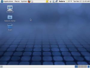 Fedora 12 Gnome desktop