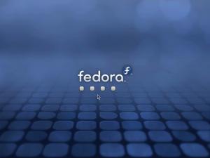 Fedora 12 KDE loading