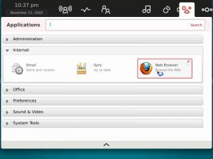 Fedora 12 Moblin Firefox